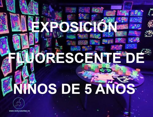 EXPOSICIÓN FLUORESCENTE DE NIÑOS DE CINCO AÑOS