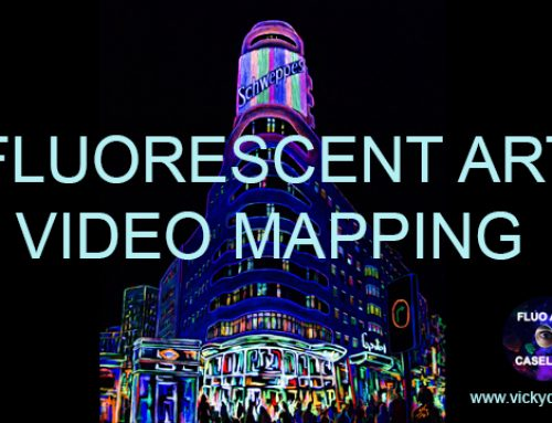 VIDEO MAPPING. ARTE FLUORESCENTE. HOTEL CAPITOL