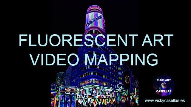 Vicky-Casellas.-Arte-fluorescente.-Hotel-Capitol-Madrid.-Video-mapping.-Animación