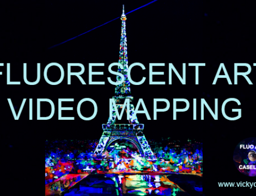 VIDEO MAPPING. ARTE FLUORESCENTE. TORRE EIFFEL