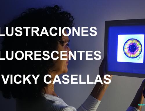 ILUSTRACIONES FLUORESCENTES. FLUO ART CASELLAS