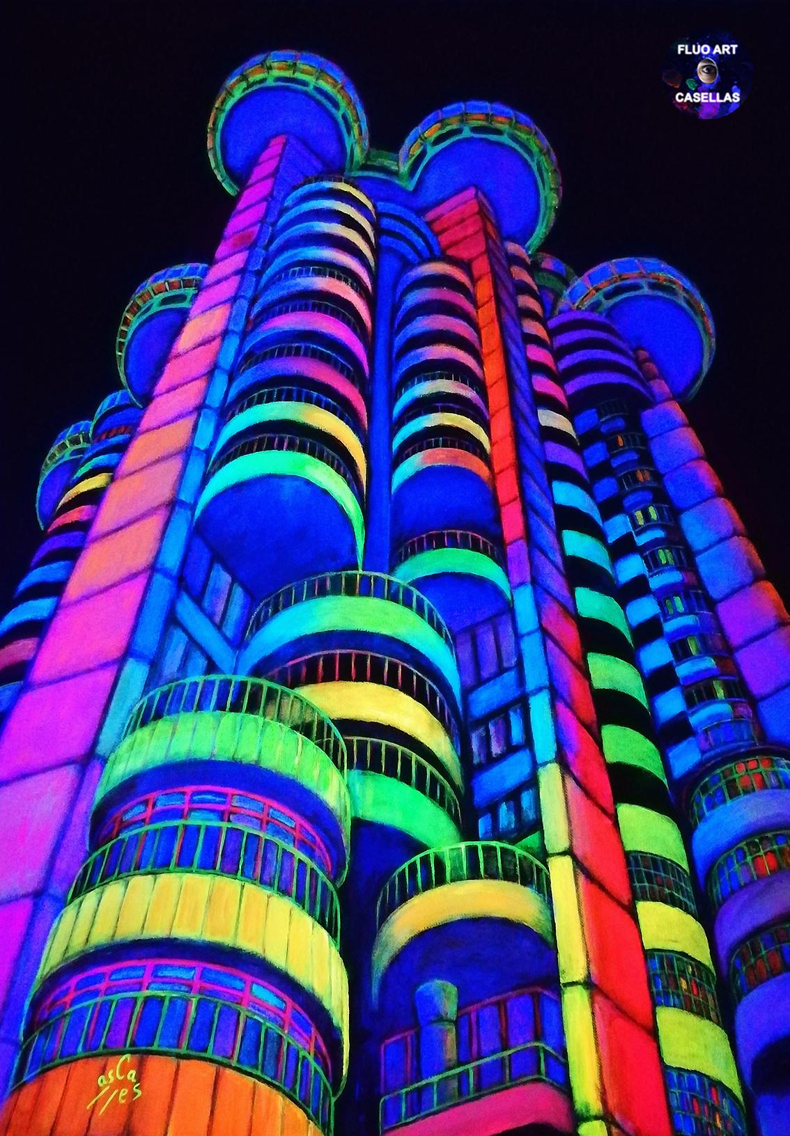 Vicky-Casellas.-Torres-Blancas.-Colección-Night-City-Lights.-Luz-negra