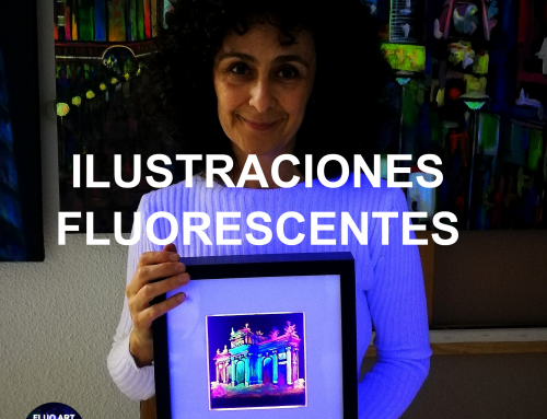 ILUSTRACIONES FLUORESCENTES. NIGHT CITY LIGHTS. VICKY CASELLAS